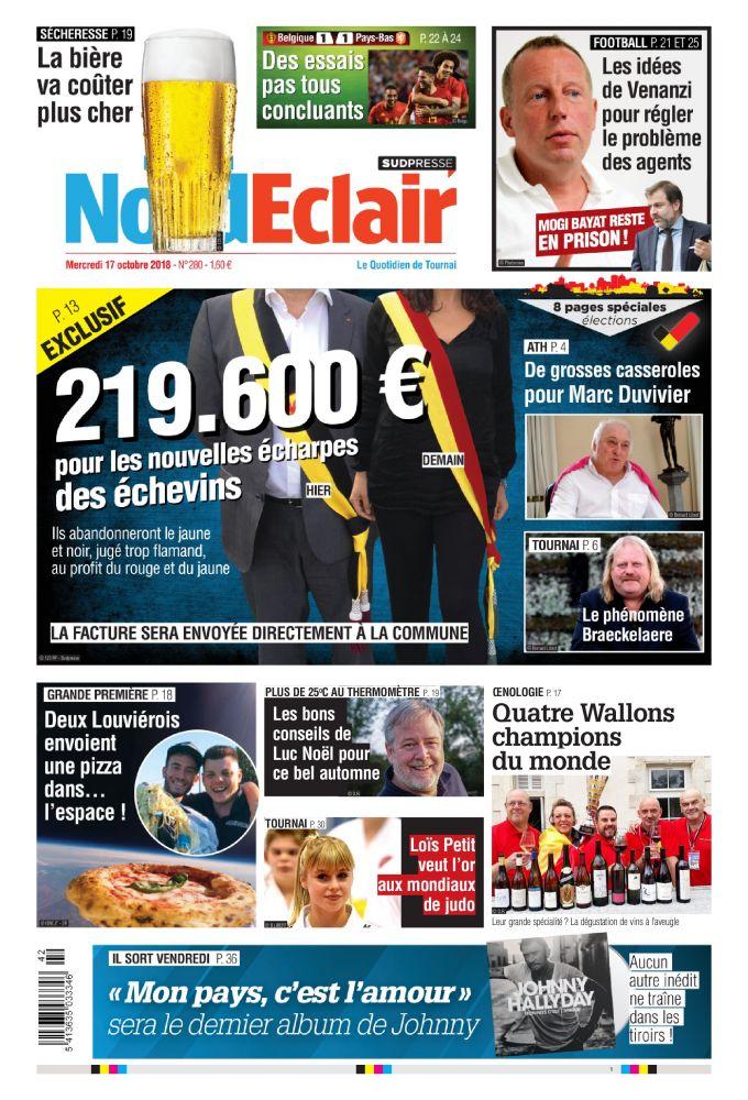 [Exclu Ultima Download] Les journaux Sudpresse Du 17 octobre 2018 (Belgique) (toutes éditions)