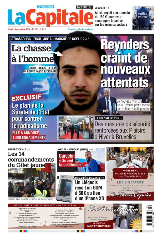 [Exclu Ultima Download] Les journaux Sudpresse Du 13 Décembre 2018 (Belgique) (toutes éditions)