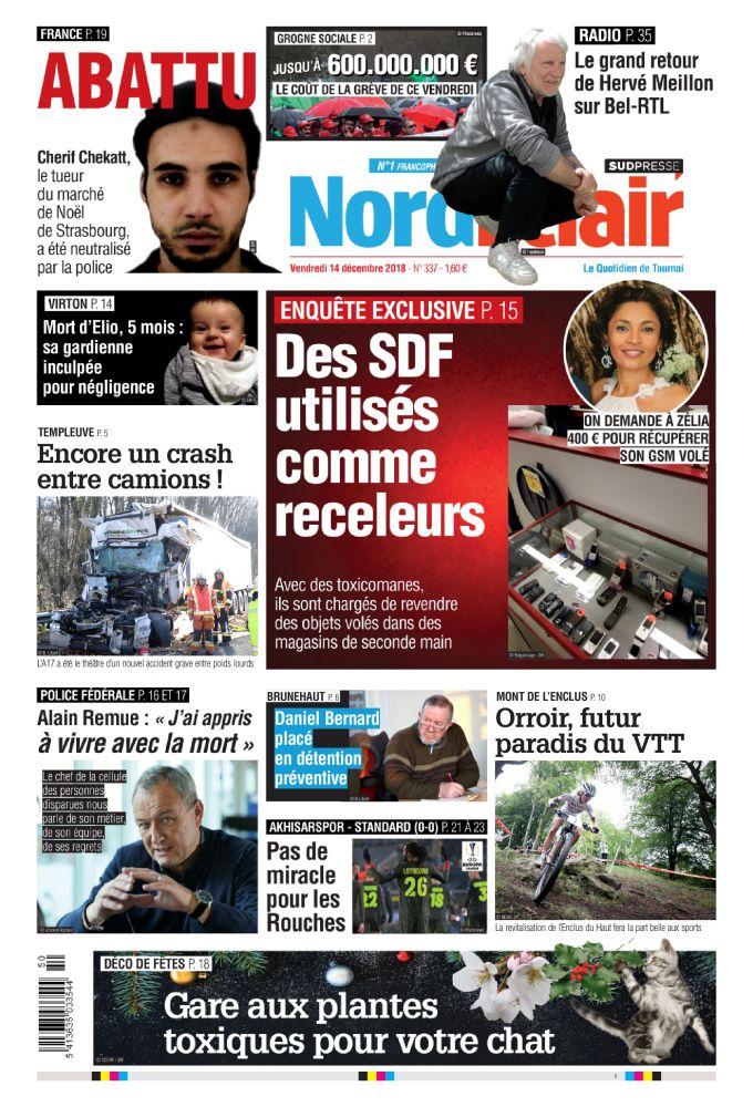 [Exclu Ultima Download] Les journaux Sudpresse Du 14 Décembre 2018 (Belgique) (toutes éditions)