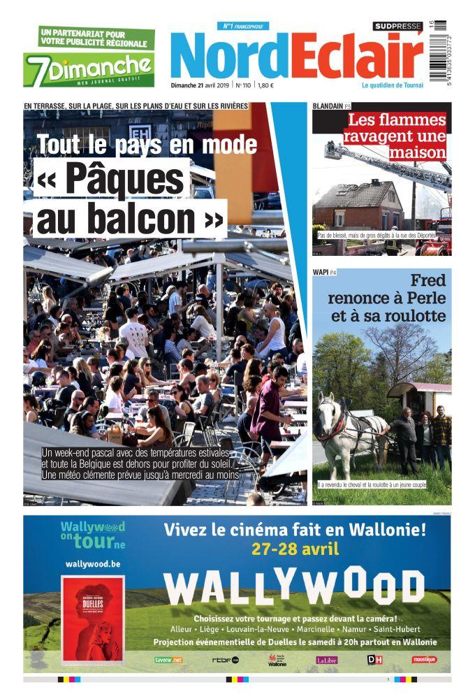 [Exclu Ultima Download] Les journaux Sudpresse Du 21 Avril 2019 (Belgique) (toutes éditions)
